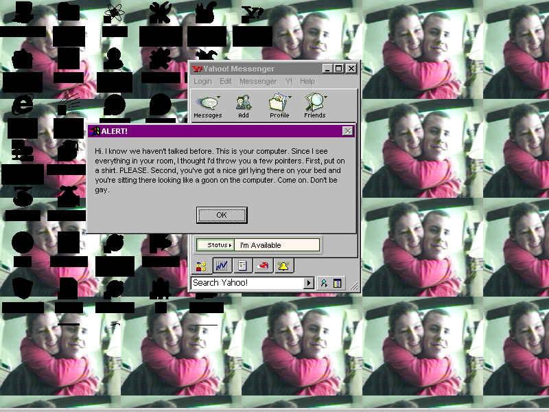 discussion par webcam